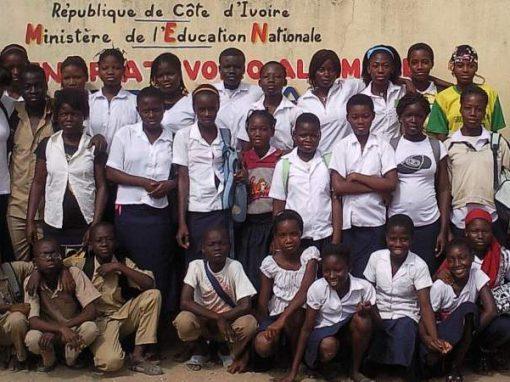 Schulprojekt in Abobo