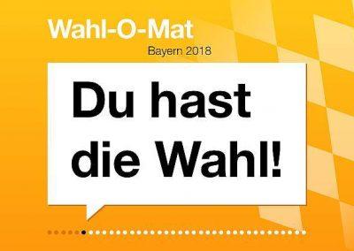 Landtagswahl in Bayern – Wer will was und was wollen Sie?