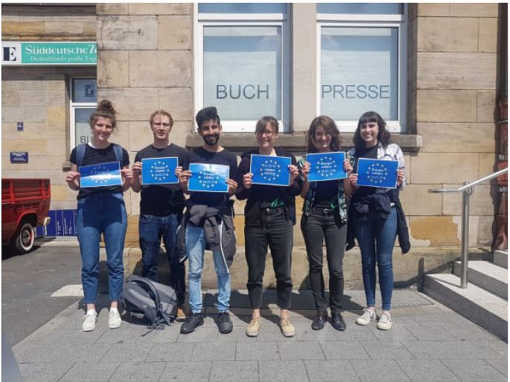 Aktion zur Europawahl 2019
